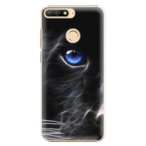 Plastové pouzdro iSaprio Black Puma na mobil Huawei Y6 Prime 2018