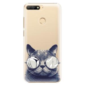 Plastové pouzdro iSaprio Šílená Číča 01 na mobil Huawei Y6 Prime 2018