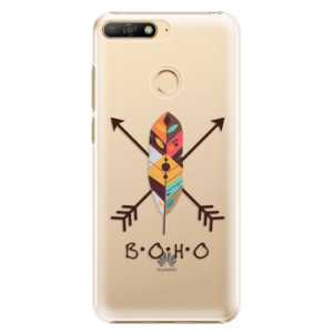 Plastové pouzdro iSaprio BOHO na mobil Huawei Y6 Prime 2018