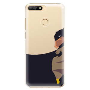 Plastové pouzdro iSaprio BaT Komiks na mobil Huawei Y6 Prime 2018