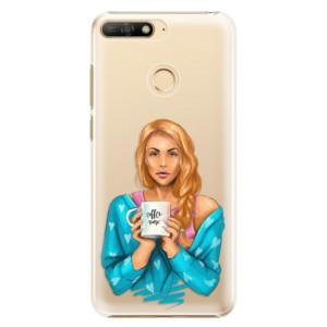 Plastové pouzdro iSaprio Coffee Now Zrzka na mobil Huawei Y6 Prime 2018
