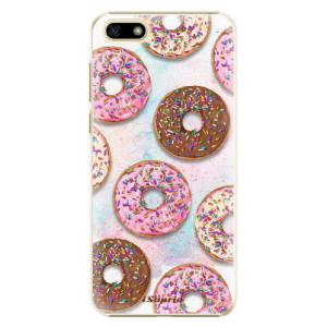Plastové pouzdro iSaprio Donutky Všude 11 na mobil Huawei Y5 2018