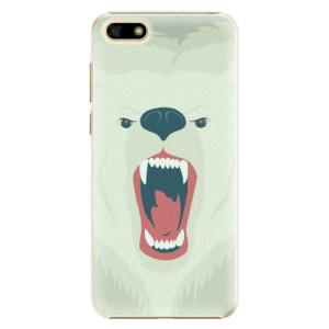Plastové pouzdro iSaprio Naštvanej Medvěd na mobil Huawei Y5 2018