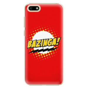 Plastové pouzdro iSaprio Bazinga 01 na mobil Huawei Y5 2018