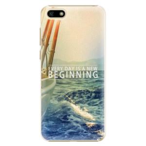 Plastové pouzdro iSaprio Beginning na mobil Huawei Y5 2018