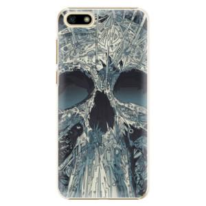Plastové pouzdro iSaprio Abstract Skull na mobil Huawei Y5 2018