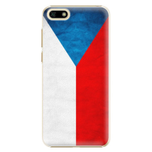 Plastové pouzdro iSaprio Česká Vlajka na mobil Huawei Y5 2018