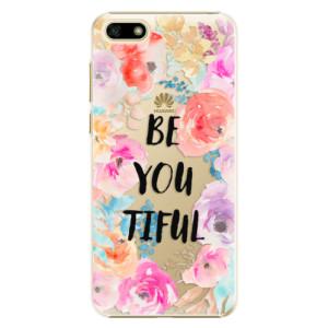 Plastové pouzdro iSaprio BeYouTiful na mobil Huawei Y5 2018