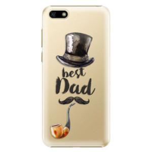 Plastové pouzdro iSaprio Best Dad na mobil Huawei Y5 2018