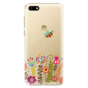 Plastové pouzdro iSaprio Včelka Pája 01 na mobil Huawei Y5 2018