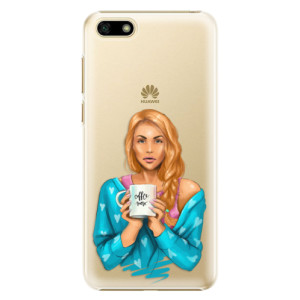 Plastové pouzdro iSaprio Coffee Now Zrzka na mobil Huawei Y5 2018