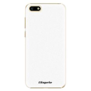 Plastové pouzdro iSaprio 4Pure bílé na mobil Huawei Y5 2018