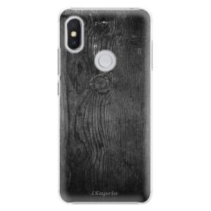 Plastové pouzdro iSaprio Black Wood 13 na mobil Xiaomi Redmi S2