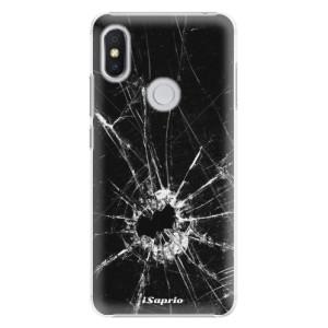 Plastové pouzdro iSaprio Broken Glass 10 na mobil Xiaomi Redmi S2