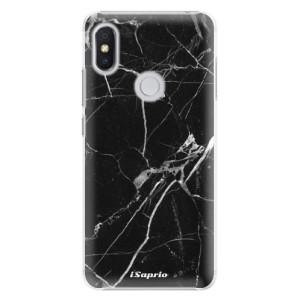 Plastové pouzdro iSaprio Black Marble 18 na mobil Xiaomi Redmi S2