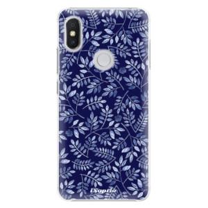 Plastové pouzdro iSaprio Blue Leaves 05 na mobil Xiaomi Redmi S2