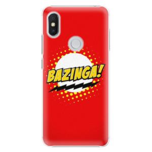 Plastové pouzdro iSaprio Bazinga 01 na mobil Xiaomi Redmi S2