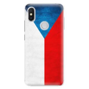 Plastové pouzdro iSaprio Česká Vlajka na mobil Xiaomi Redmi S2
