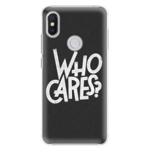 Plastové pouzdro iSaprio Who Cares na mobil Xiaomi Redmi S2