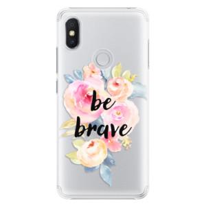 Plastové pouzdro iSaprio Be Brave na mobil Xiaomi Redmi S2