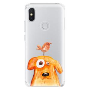 Plastové pouzdro iSaprio Pejsek a Ptáček na mobil Xiaomi Redmi S2