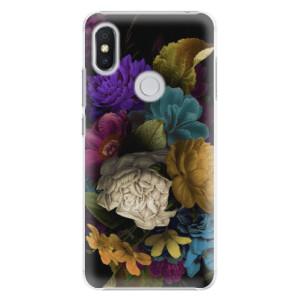 Plastové pouzdro iSaprio Temné Květy na mobil Xiaomi Redmi S2