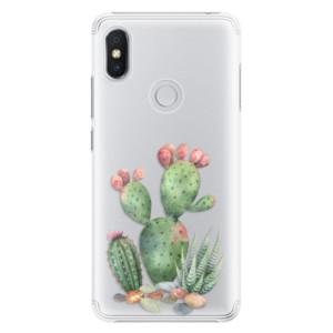 Plastové pouzdro iSaprio Kaktusy 01 na mobil Xiaomi Redmi S2