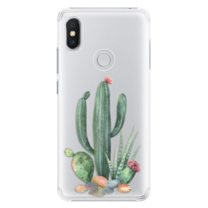 Plastové pouzdro iSaprio Kaktusy 02 na mobil Xiaomi Redmi S2