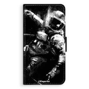 Flipové pouzdro iSaprio Astronaut 02 na mobil Apple iPhone 8 Plus