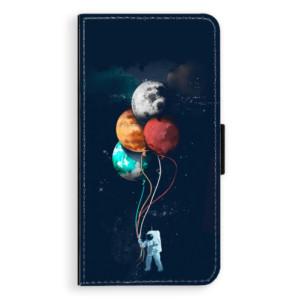 Flipové pouzdro iSaprio Balónky 02 na mobil Apple iPhone 8 Plus