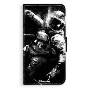 Flipové pouzdro iSaprio Astronaut 02 na mobil Apple iPhone X