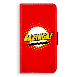 Flipové pouzdro iSaprio Bazinga 01 na mobil Apple iPhone X