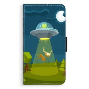 Flipové pouzdro iSaprio Ufouni 01 na mobil Apple iPhone X