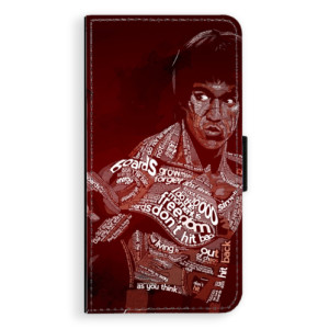 Flipové pouzdro iSaprio Bruce Lee na mobil Apple iPhone X
