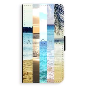 Flipové pouzdro iSaprio Aloha 02 na mobil Apple iPhone X
