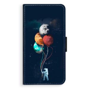 Flipové pouzdro iSaprio Balónky 02 na mobil Apple iPhone X