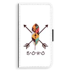 Flipové pouzdro iSaprio BOHO na mobil Apple iPhone X
