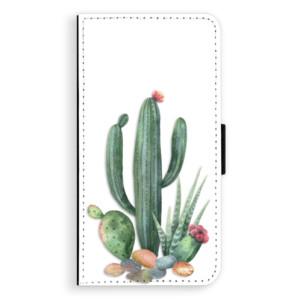 Flipové pouzdro iSaprio Kaktusy 02 na mobil Apple iPhone X