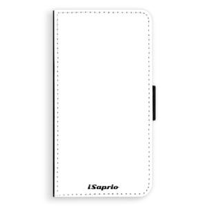 Flipové pouzdro iSaprio 4Pure bílé na mobil Apple iPhone X