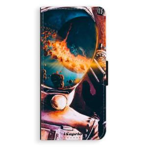 Flipové pouzdro iSaprio Astronaut 01 na mobil Samsung Galaxy S8 Plus