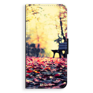 Flipové pouzdro iSaprio Bench 01 na mobil Samsung Galaxy S8 Plus