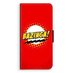 Flipové pouzdro iSaprio Bazinga 01 na mobil Samsung Galaxy S8 Plus