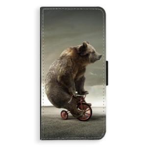 Flipové pouzdro iSaprio Medvěd 01 na mobil Samsung Galaxy S8 Plus
