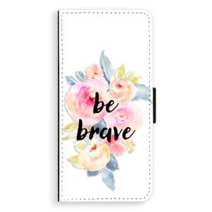 Flipové pouzdro iSaprio Be Brave na mobil Samsung Galaxy S8 Plus