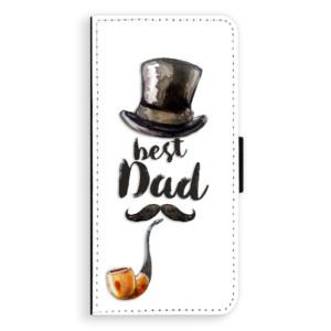 Flipové pouzdro iSaprio Best Dad na mobil Samsung Galaxy S8 Plus