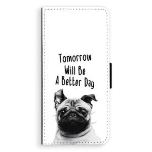 Flipové pouzdro iSaprio Better Day 01 na mobil Samsung Galaxy S8 Plus