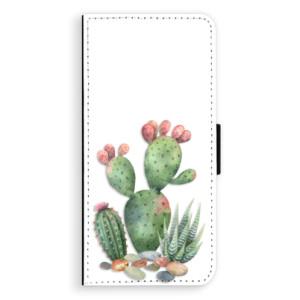 Flipové pouzdro iSaprio Kaktusy 01 na mobil Samsung Galaxy S8 Plus
