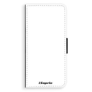 Flipové pouzdro iSaprio 4Pure bílé na mobil Samsung Galaxy S8 Plus