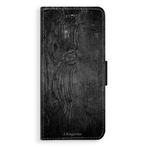 Flipové pouzdro iSaprio Black Wood 13 na mobil Samsung Galaxy Note 8