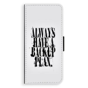 Flipové pouzdro iSaprio Backup Plan na mobil Samsung Galaxy Note 8